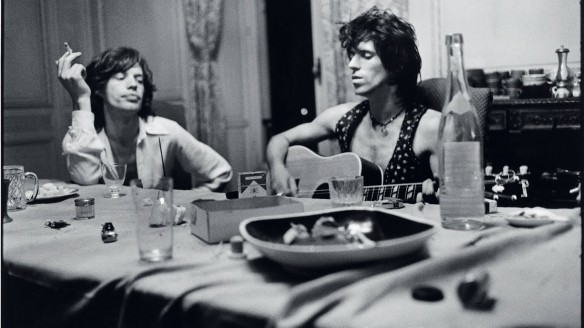 Mick Jagger and Keith Richards, c. 1972