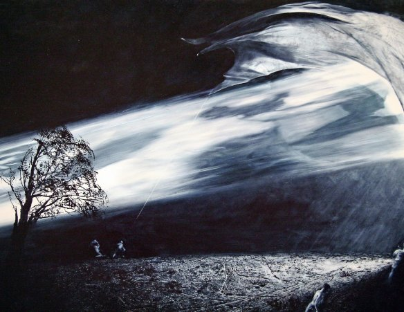Mark Tansey: Interception (1996)