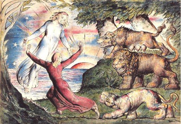 William Blake, illustration for Dante's Inferno