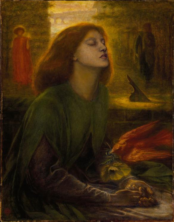 Dante Gabriel Rossetti: Beata Beatrix, c. 1864-70