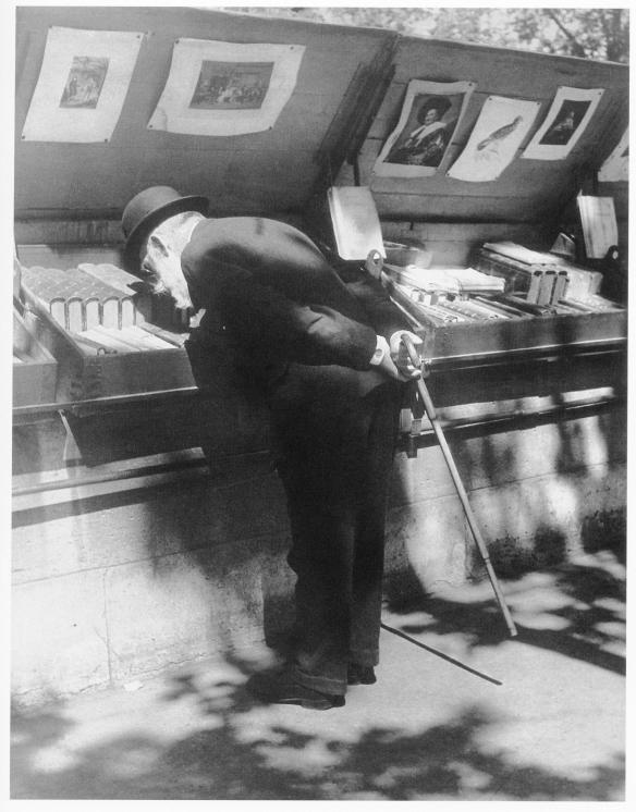 Professor Louis Dimier, Member of the Institute, on the bank of the Seine, Paris, 1931-1932