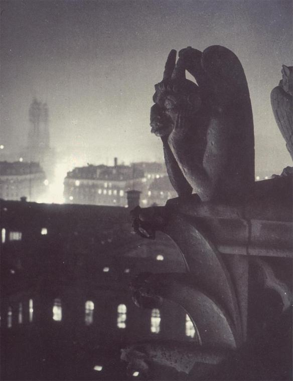 Brassai: Nocturnal View from Notre Dame, 1933