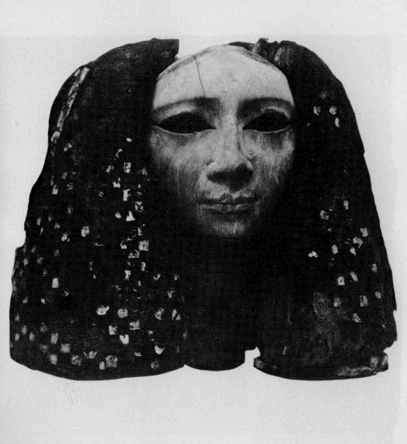 Egyptian Woman with Wig