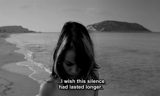 I wish this silence had lasted longer.