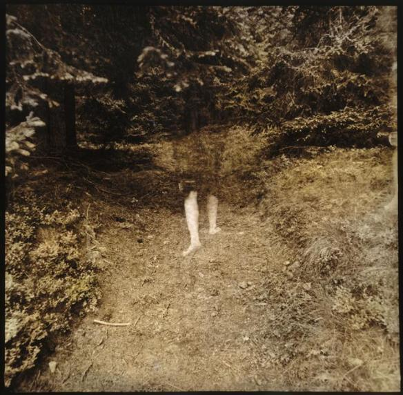 Photo by Jan Saudek: Jane's Departure (1976)