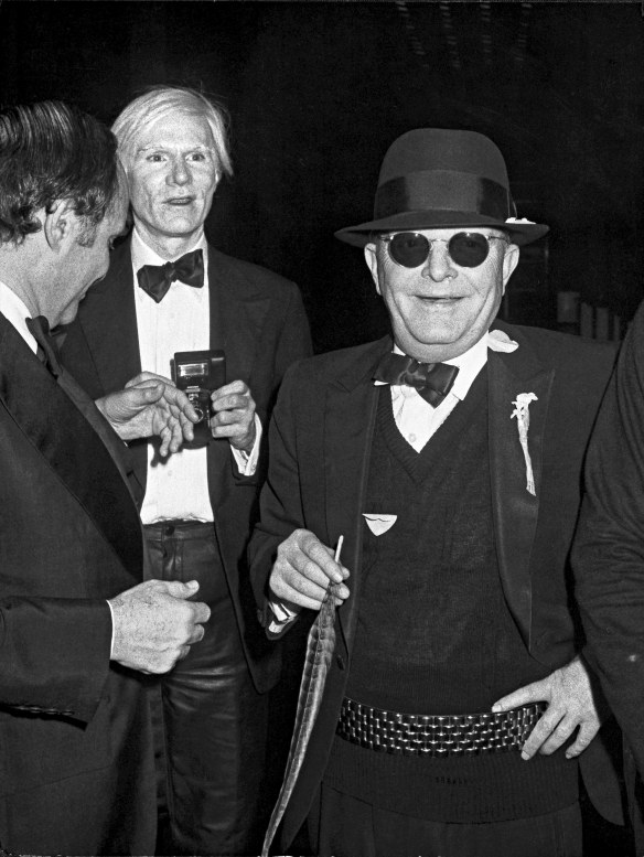 Lester Persky, Andy Warhol and Truman Capote, New York, 1978