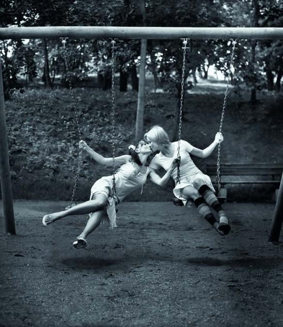 Photo by Sára Saudková: The Swing (2004)