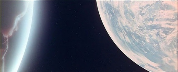 Scene from '2001: A Space Odyssey