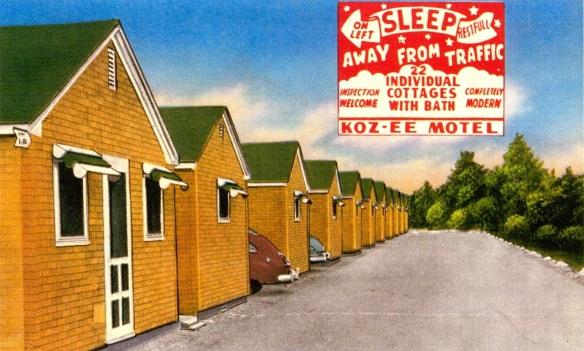Koz-ee Motel, circa 1950