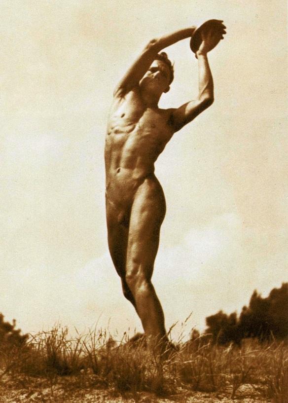 Discus thrower, circa 1935