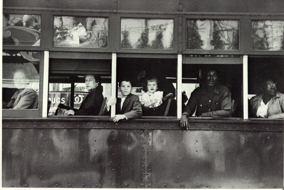 Trolley, New Orleans, 1955-56