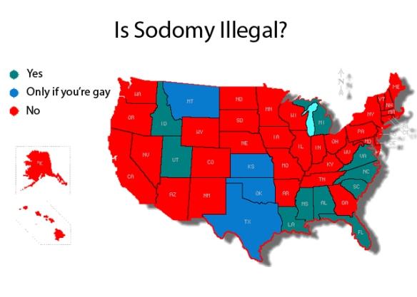 Sodomy Map