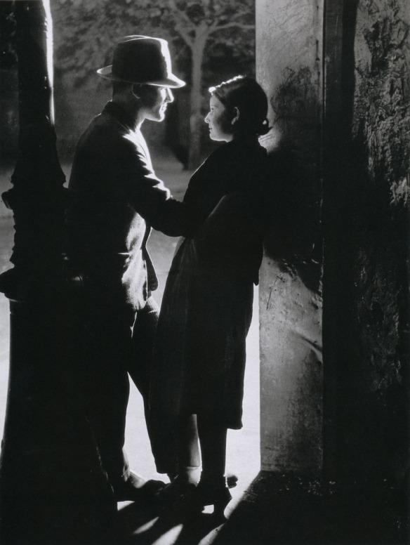 Lovers Beneath a Streetlight