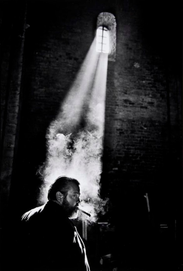 Photo by Nicolas Tikhomiroff: Orson Welles, 1964
