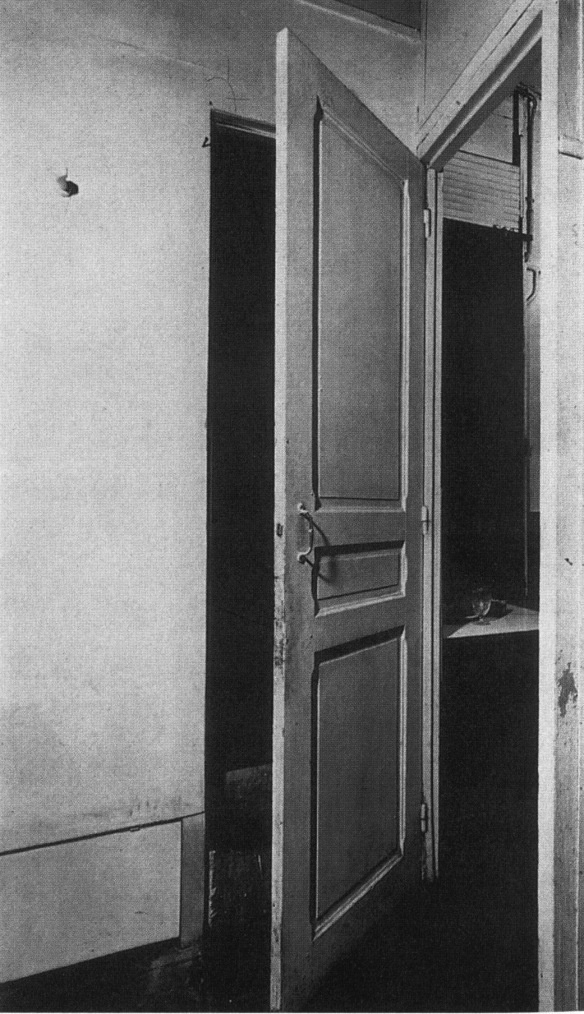 Door as a substitute for two doors