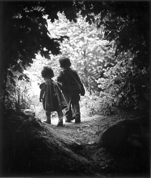 Photo by W. Eugene Smith: A Walk to the Paradise Garden (1946)