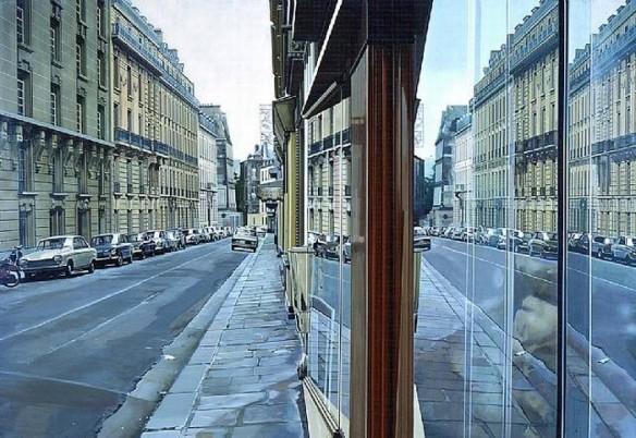 Paris Street Scene, 1972