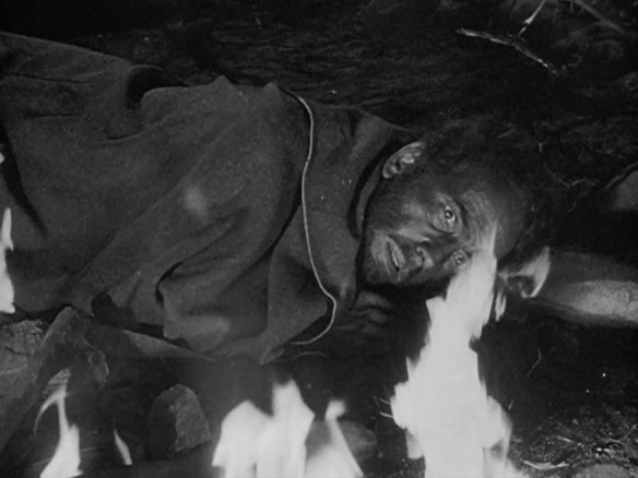 Campfire scene from 'Treasure of the Sierra Madre'