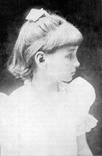 Helen Keller, age 7