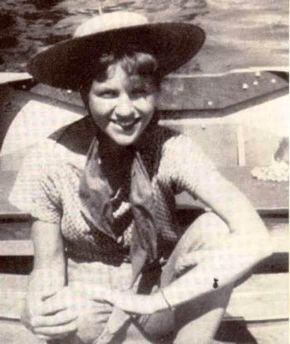 Sylvia Plath c. 1944