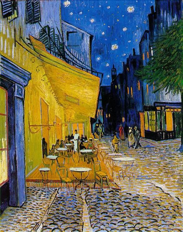 Cafe Terrace on the Place du Forum