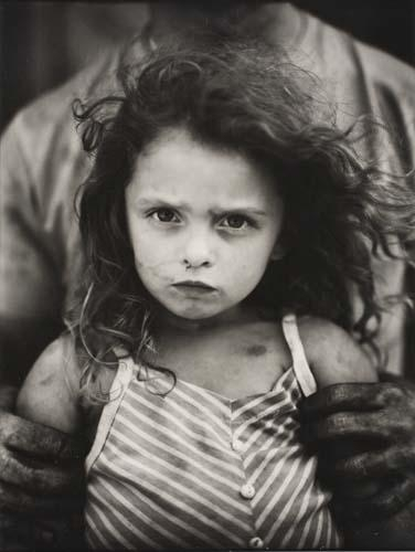 Photo by Sally Mann: Holding Virginia (1989)