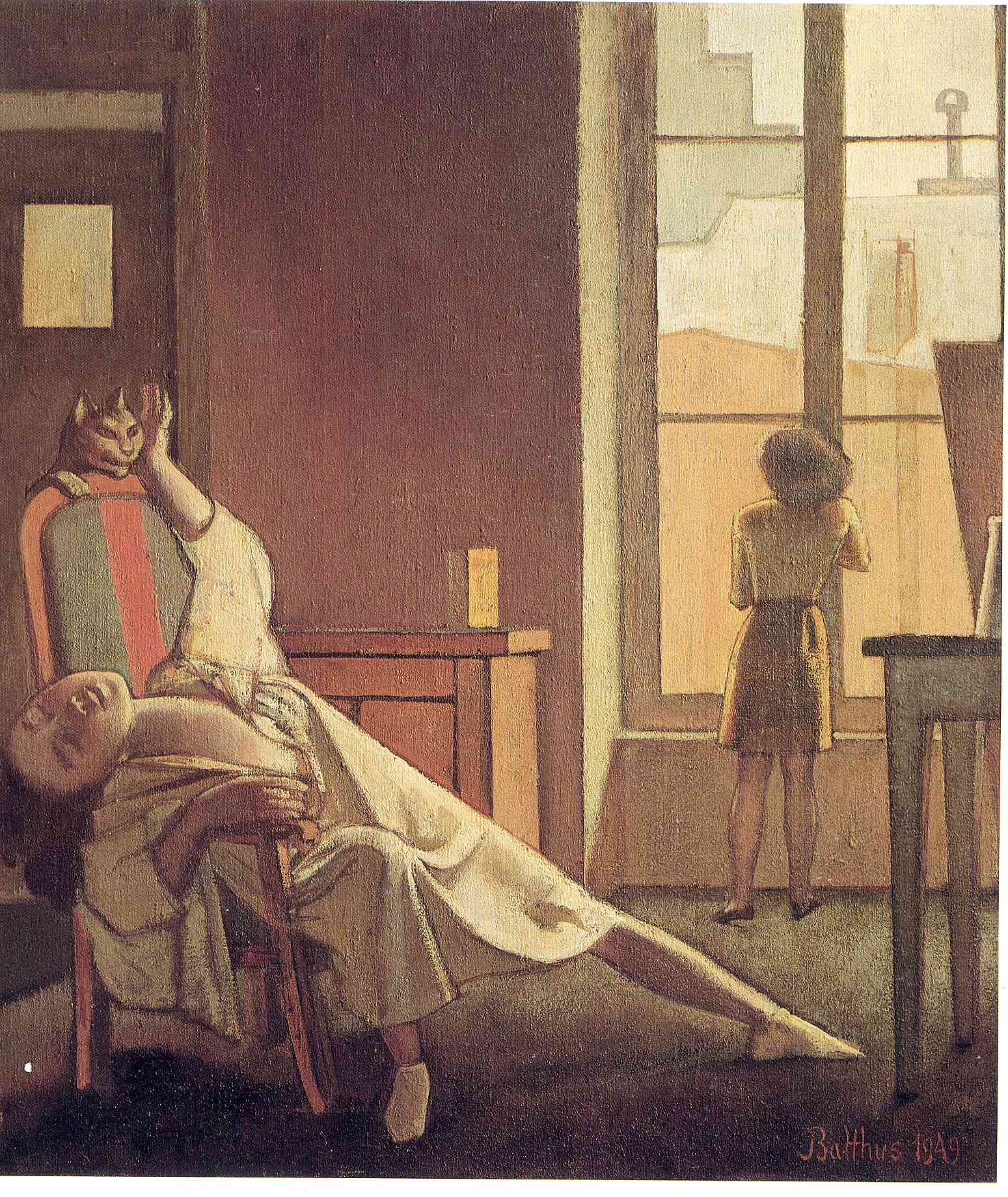 For balthus s birthday beings akin for Balthus la chambre