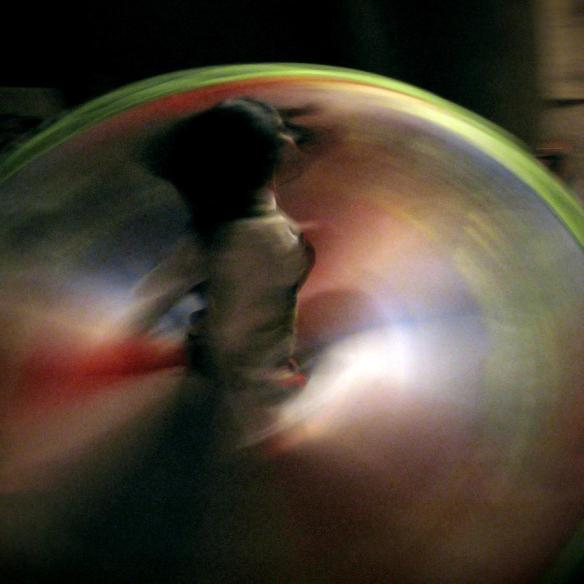 A female Whirling Dervish in Capadocia