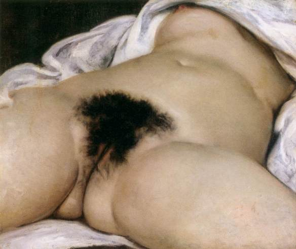 Painting by Gustave Courbet: The Origin of the World (1866)