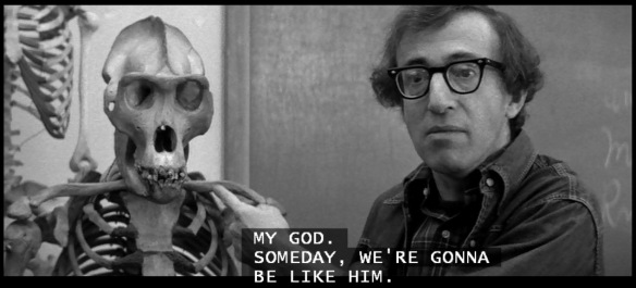 Screen capture: From Woody Allen's Manhattan (1979)