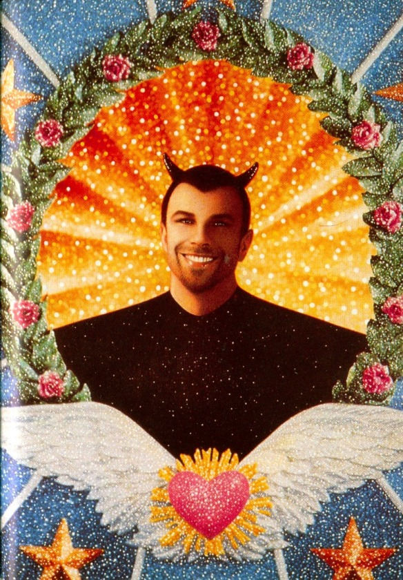 Illustration by Pierre et Gilles: Thierry Mugler as Devil (1992)