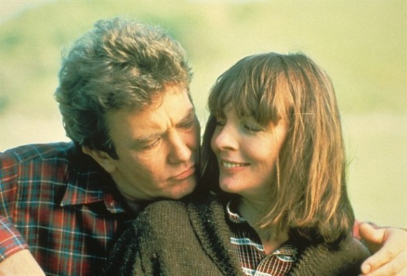 Photo: Albert Finney and Diane Keaton in Shoot the Moon