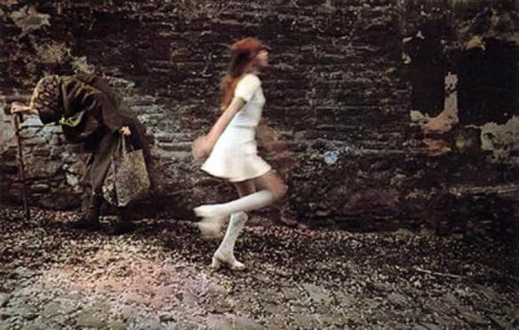 Photo by Jan Saudek: Two Women (1974)