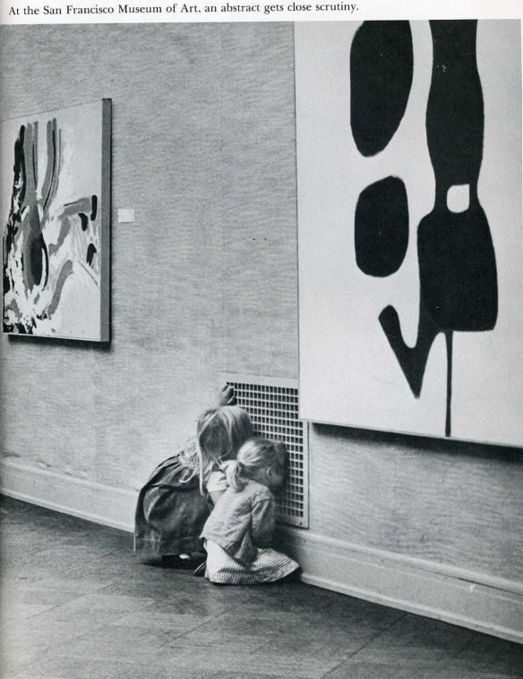 Photo: At the San Francisco Museum of Art, an abstract gets close scrutiny