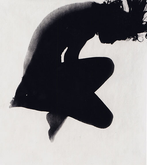 Photogram by Floris M. Neusüss: Körperbild (KOR B27) (1963)