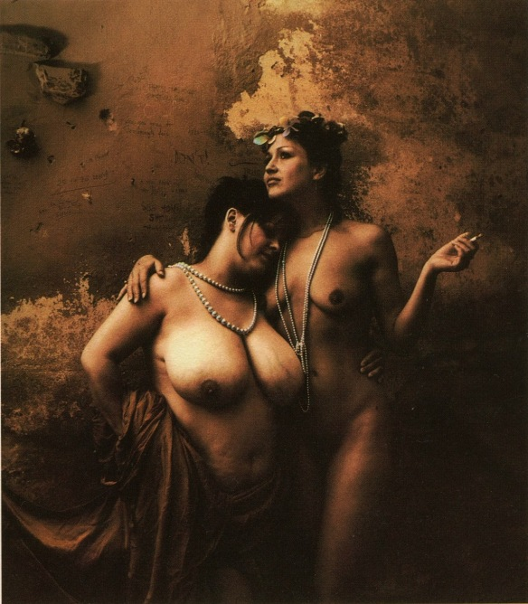 Photo by Jan Saudek: Untitled 6 (1985)