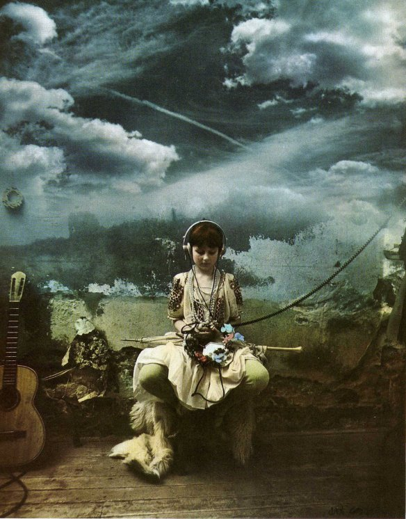Photo by Jan Saudek: Music (1980)
