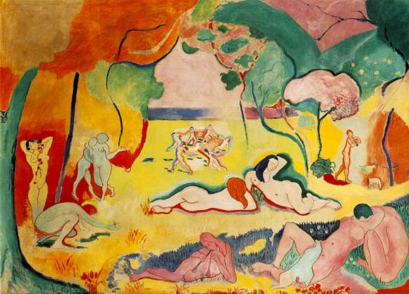 Painting by Henri Matisse: The Joy of Life (1905-06)