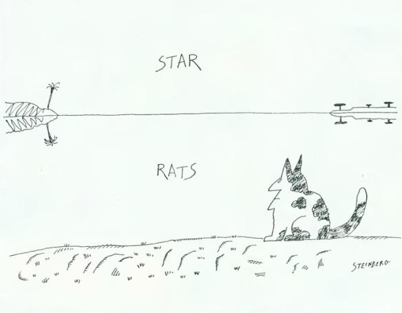 Illustration by Saul Steinberg