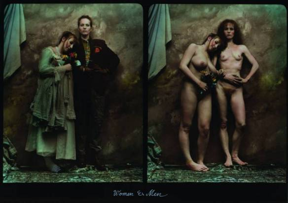 Photo by Jan Saudek: Women et Men